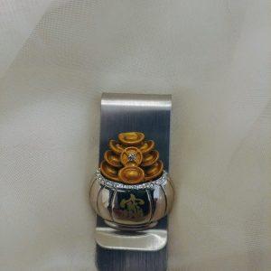 Moneyclip pot of gold