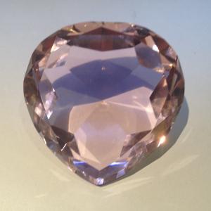 Kristallen Hart Roze