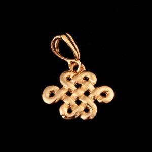 Gouden Mystic Knot Hanger
