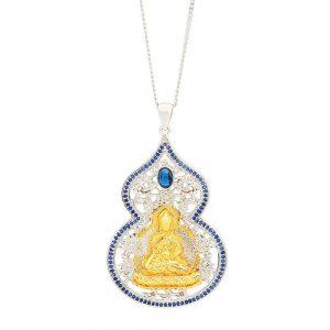 Medicine Buddha With Wu Luo Pendant