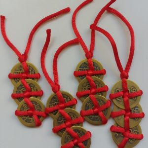 Munten 4 sets I-Ching koperen munten