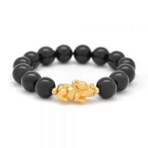 Pi yao onyx bracelet