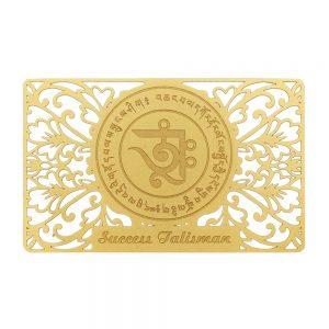 succes talisman gold front