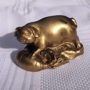 gouden varken