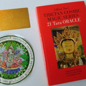 21 taras set sticker, talisman en boek