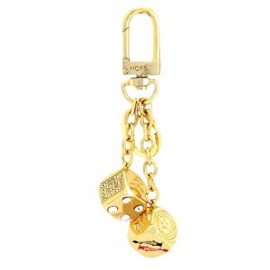 ctory in Gambling keychain Gold
