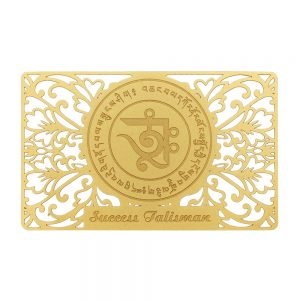 Success Talisman gold card