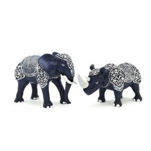 Armored Rhino Elephant