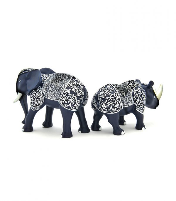 Armored Rhino & Elephant Back